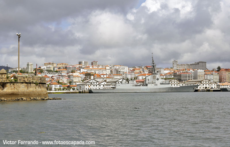 Ferrol en Velero
