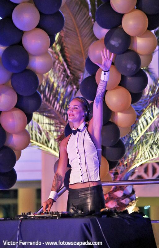 Fiesta décimo aniversario hotel Las Arenas Valencia