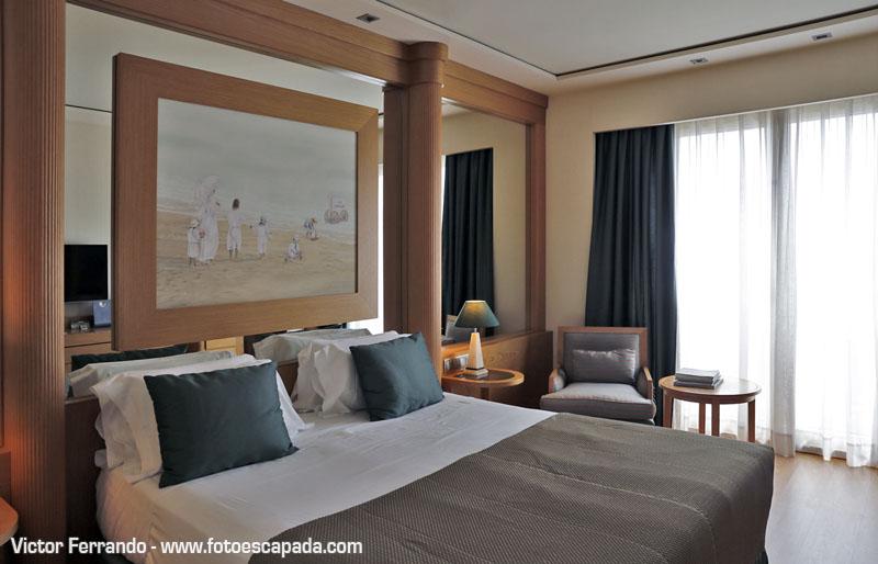 Habitaciones del Hotel Balneario Las Arenas