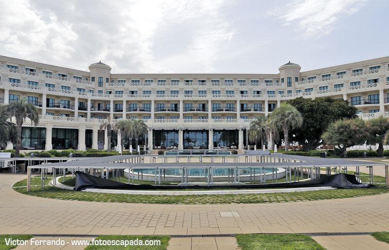 Instalaciones del Hotel Balneario Las Arenas