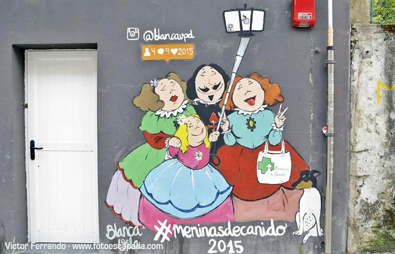 Ruta de las Meninas de Canido en Ferrol