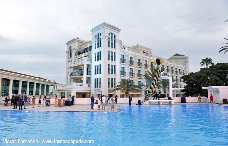 Piscina del Hotel Balneario Las Arenas