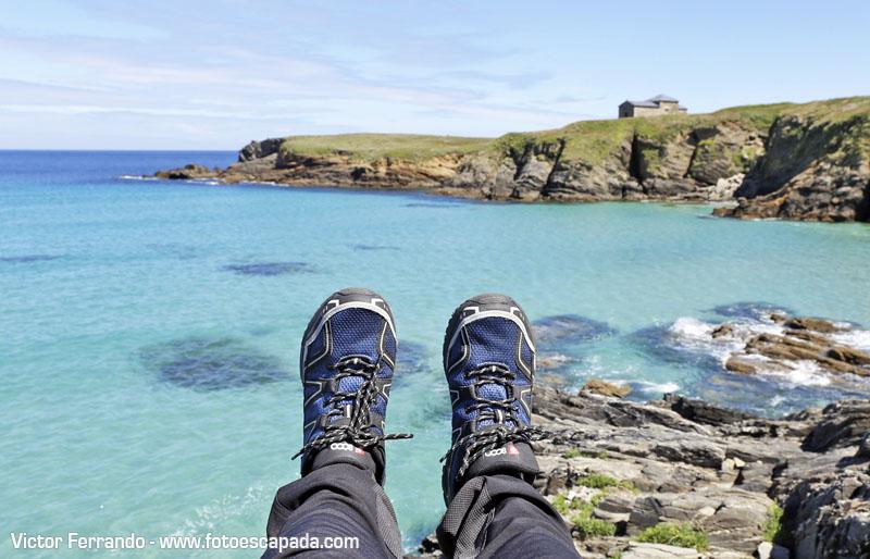 Zapatillas Trekking +8000 Turismo Activo en Ferrol