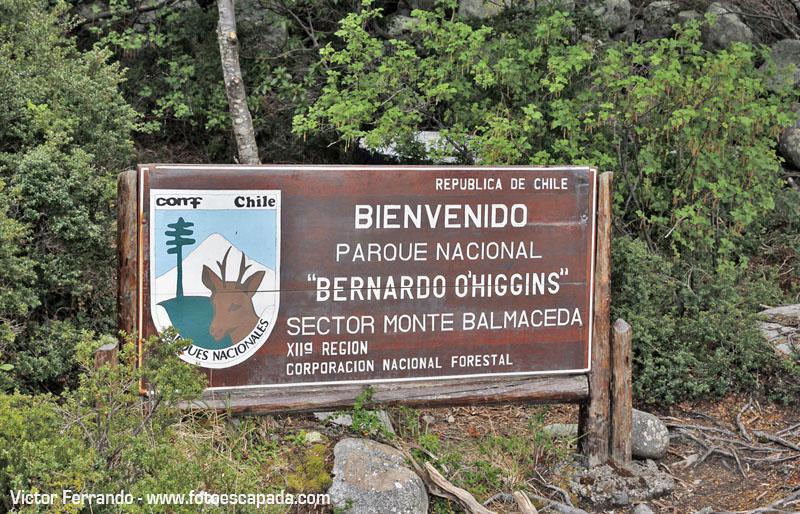 El Parque Nacional Bernardo O´Higgins