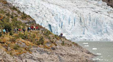 Navegación a los Glaciares Balmaceda y Serrano