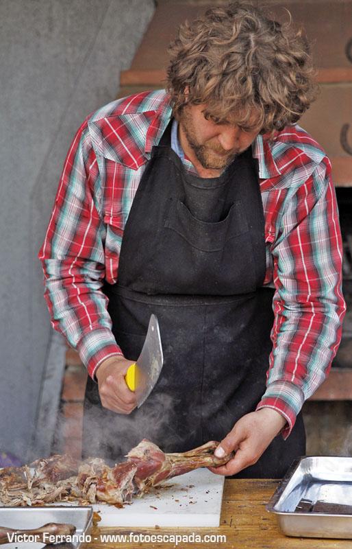 Almuerzo de cordero Patagónico en Estancia Consuelo
