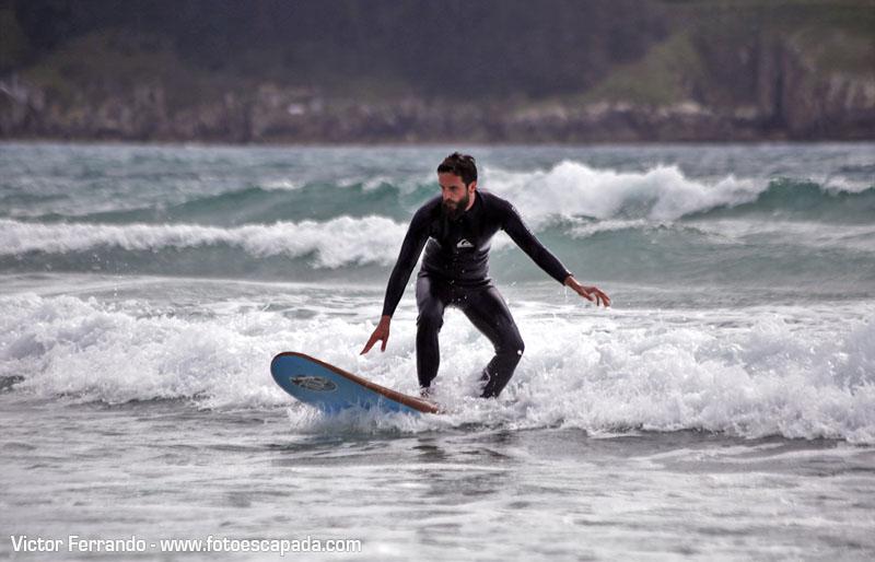 Surf en la Playa de Doñinos