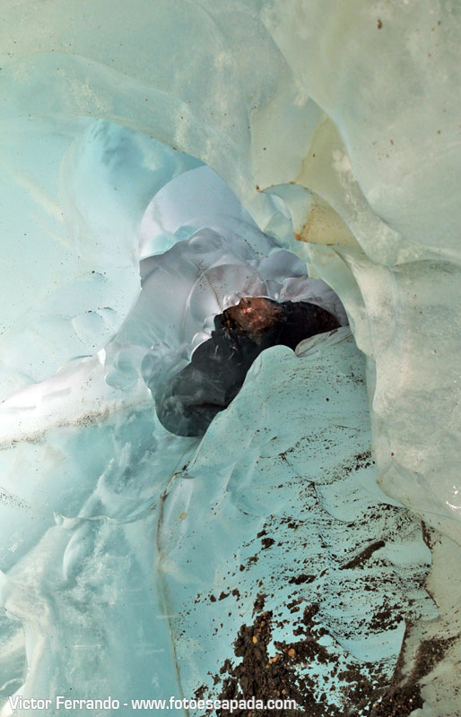 Ice Treking Glaciar Exploradores Patagonia Chilena