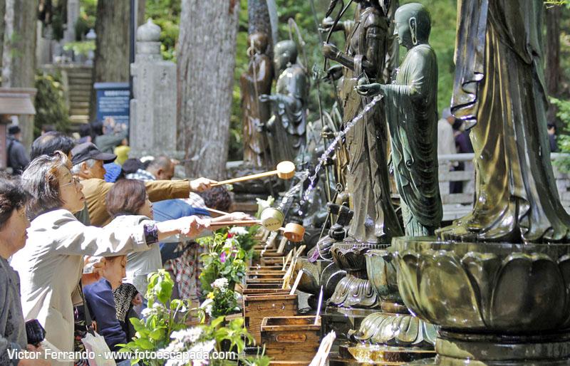 Cementerio Okunoin Koyasan