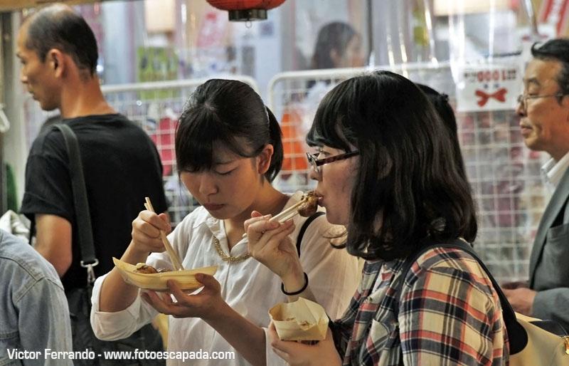 Comida Callejera en Tokyo