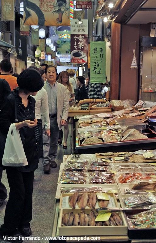 Mercado Nishiki Kioto