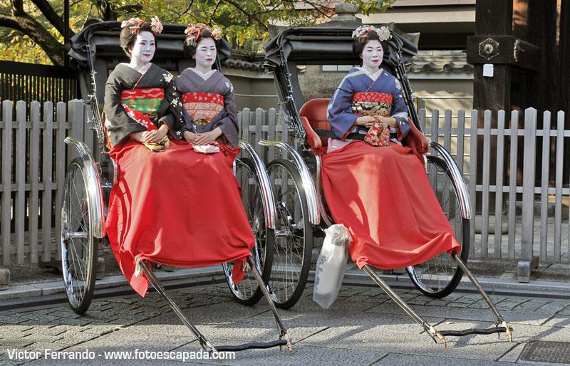 Mujeres Maiko Kyoto