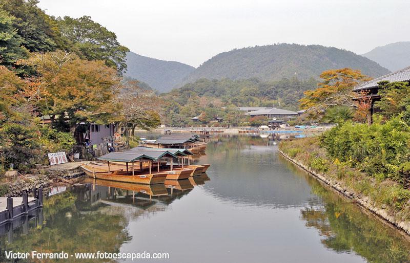 Río Hozugawa Arashiyama