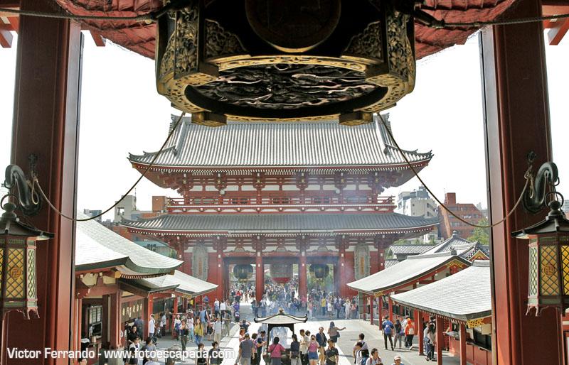 Templo de Asakusa Tokyo