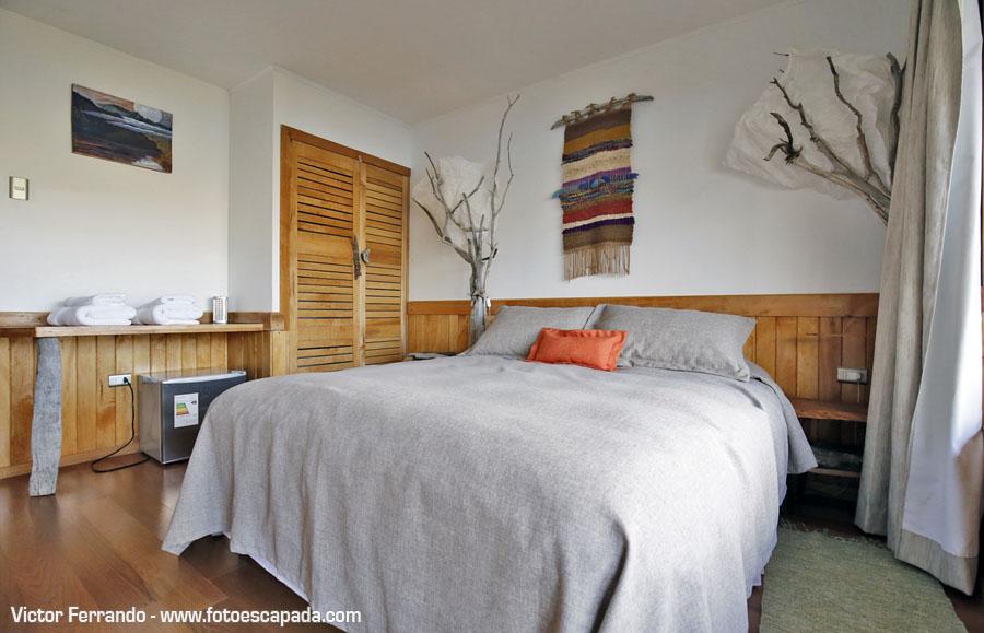 Habitación de Casa Lenga en Mallín Colorado