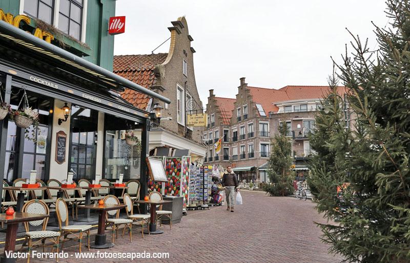 Restaurantes y tiendas de Volendam