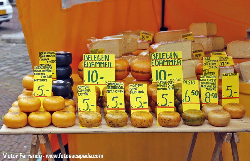 Mercado de quesos en Edam