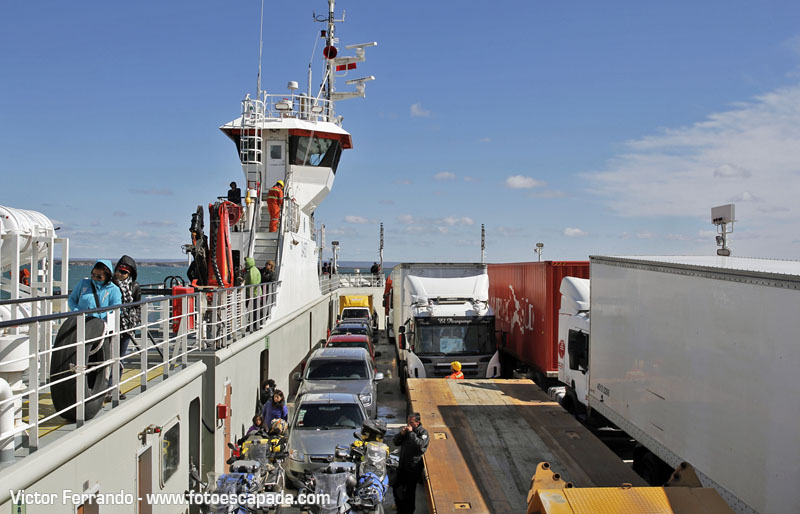Cruce del Estrecho de Magallanes