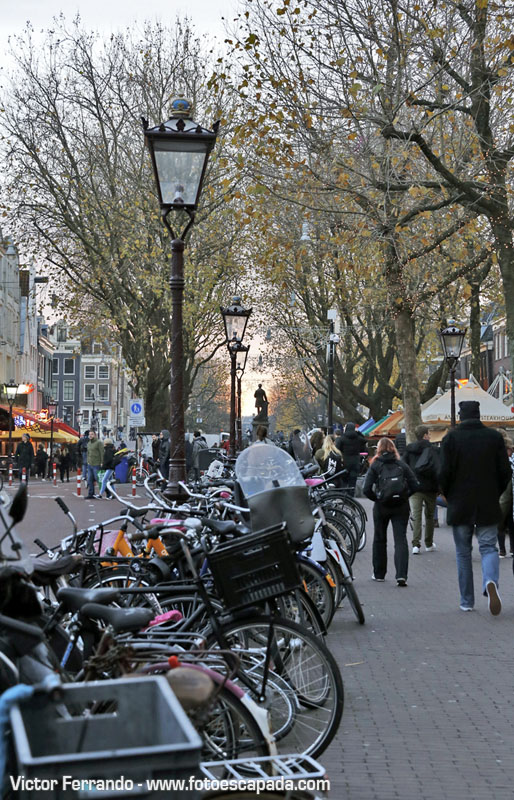 Puesta de sol en Ámsterdam