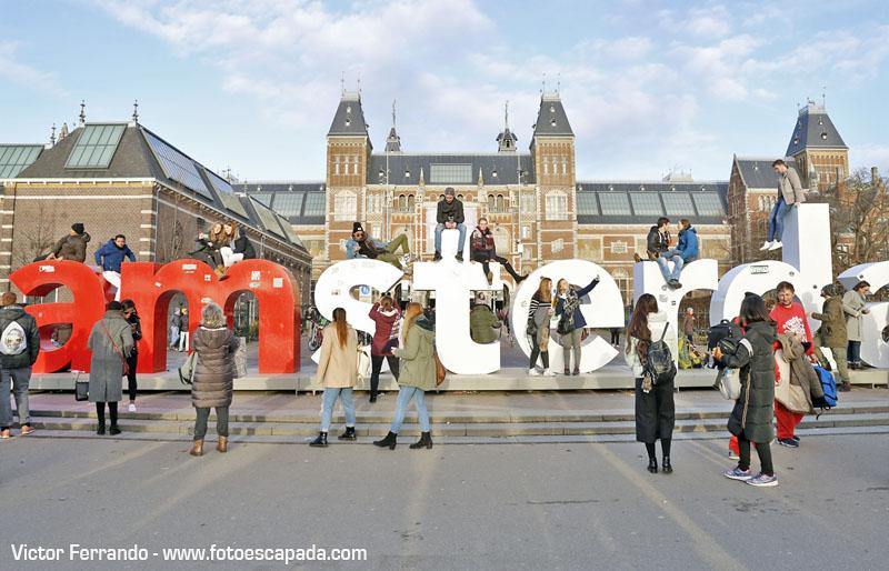 Letrero iAmsterdam