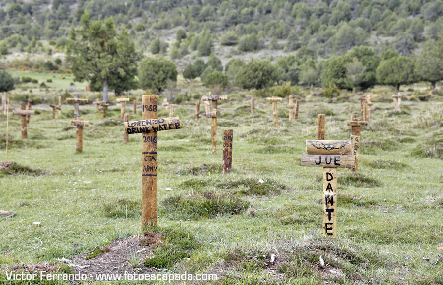 Tumbas en Sad Hill, Burgos