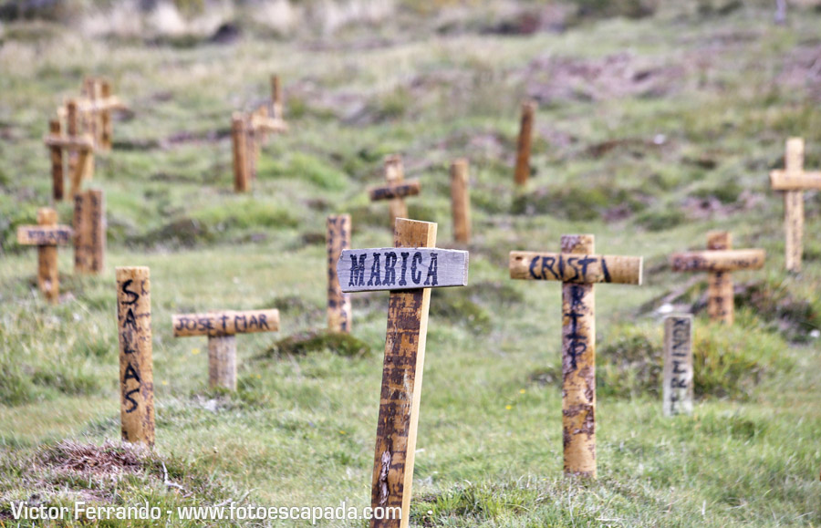 El Cementerio de Sad Hill en Burgos
