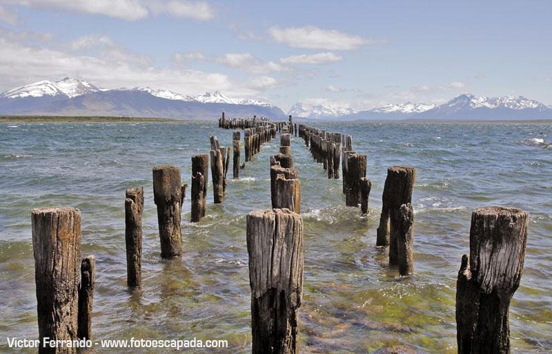 Antiguo muelle de Puerto Natales