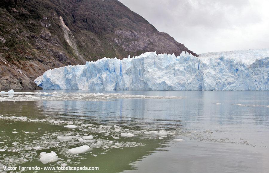 Laguna y Glaciar San Rafael Patagonia Chilena