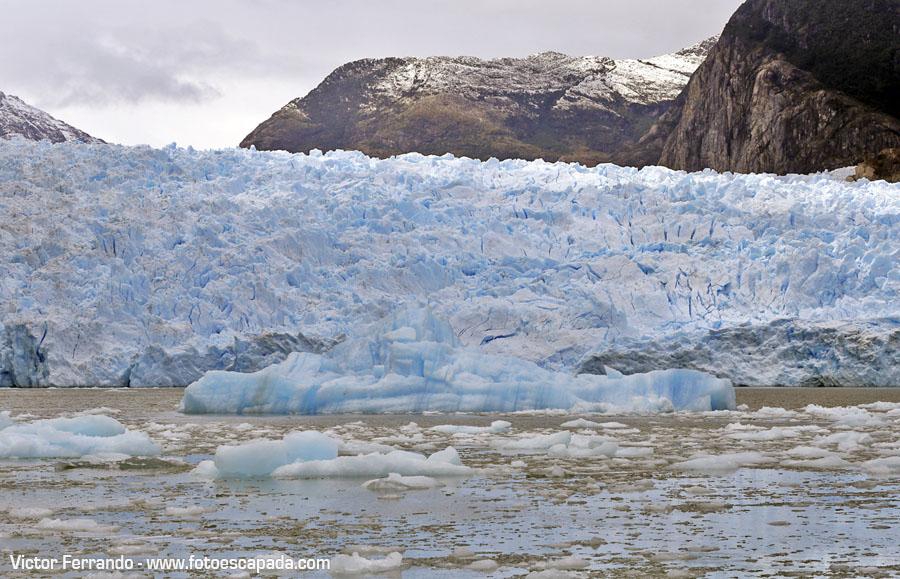 Laguna y Glaciar San Rafael Patagonia Chilena Enero