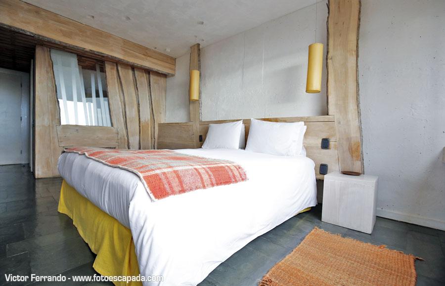 Habitación del Hotel Remota Puerto Natales