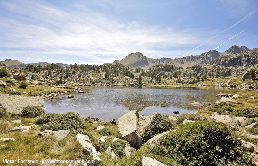 Rutas de Senderismo en Andorra: Los lagos de Pessons
