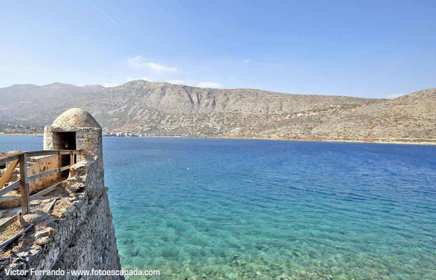 Isla fortificada de Spinalonga