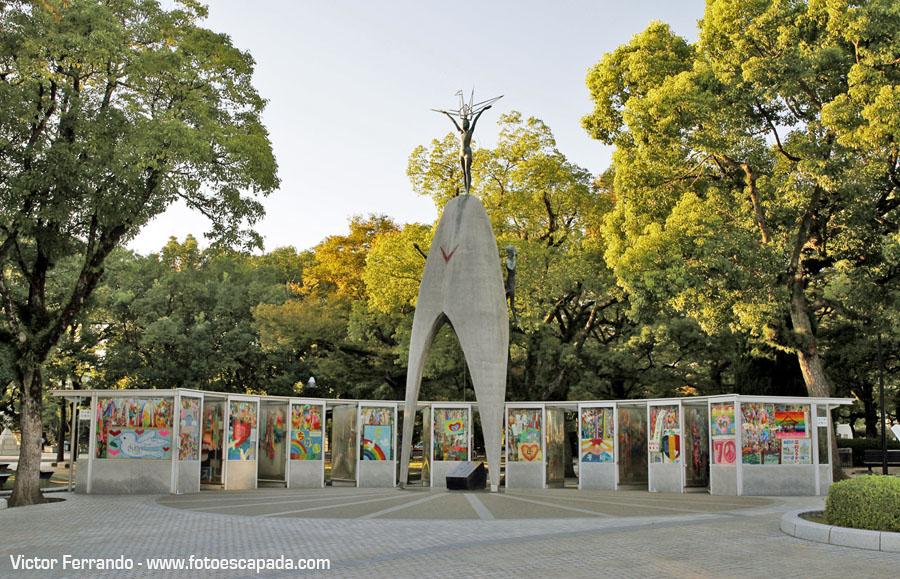 Parque Memorial de la Paz en Hiroshima